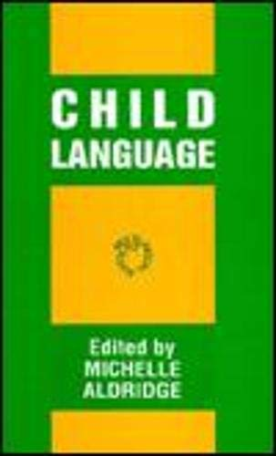 9781853593161: Child Language