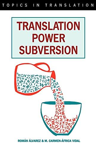 9781853593505: Translation, Power, Subversion (Topics in Translation)