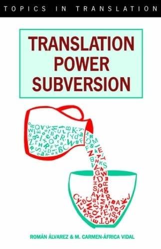 9781853593512: Translation Power Subversion (Topics in Translation, 8)