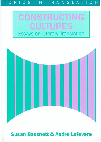 9781853593529: Constructing Cultures: Essays on Literary Translation