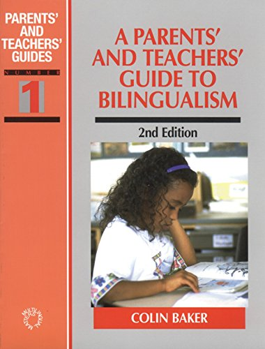 9781853594557: A Parents' and Teachers' Guide to Bilingualism (Parents' and Teachers' Guides)
