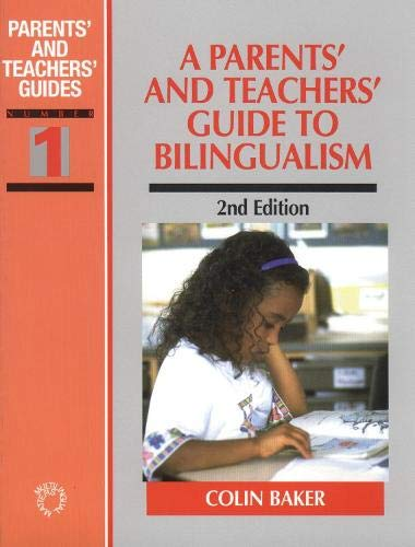 9781853594564: A Parents' and Teachers' Guide to Bilingualism (Parents' and Teachers' Guides, 1)
