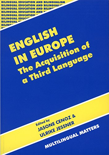 9781853594793: English in Europe: The Acquisition of a Third Language (Bilingual Education & Bilingualism)