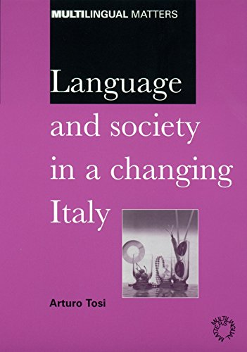 9781853595004: Language and Society in a Changing Italy (Multilingual Matters)
