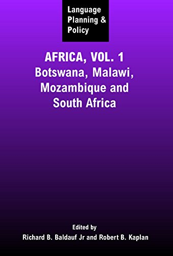 9781853597251: Language Planning and Policy in Africa: Botswana, Malawi, Mozambique