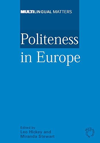 Politeness in Europe (Multilingual Matters)