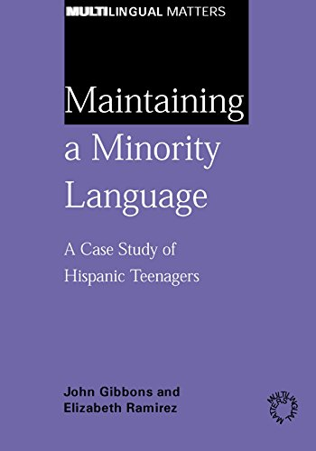 9781853597404: Maintaining a Minority Language: A Case Study of Hispanic Teenagers (Multilingual Matters)