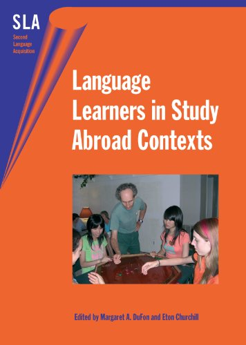 9781853598517: Language Learners in Study Abroad Contexts (Second Language Acquisition)