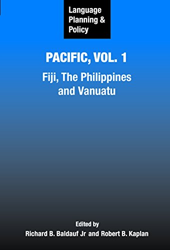 9781853599217: 1: Language Planning and Policy in the Pacific: Fiji, The Philippines, and Vanuatu