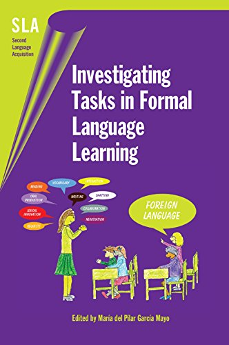 9781853599262: Investigating Tasks in Formal Language Learning (Second Language Acquisition)