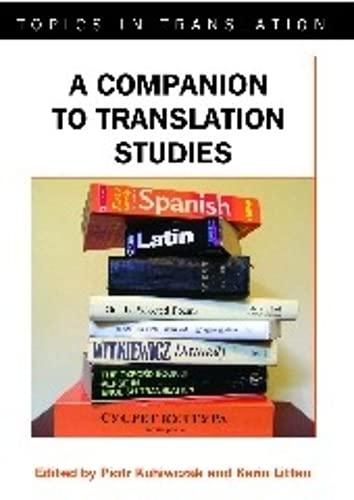 9781853599569: A Companion to Translation Studies (Topics in Translation): 34