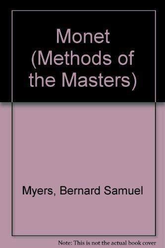 9781853611001: Monet (Methods of the Masters)
