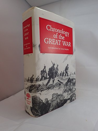 9781853670121: Chronology of the Great War