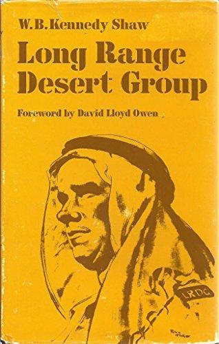 Long Range Desert Group: Shaw, W. B. Kennedy