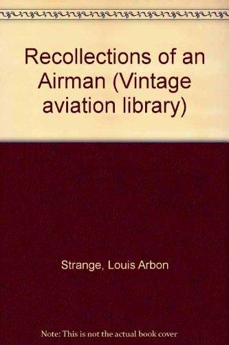 9781853670435: Recollections of an Airman