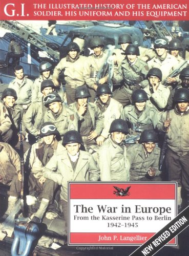 9781853673382: The War in Europe: From the Kasserine Pass to Berlin, 1942-1945 (G.I. Series)