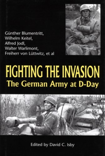 9781853674273: Fighting the Invasion: The German Army at D-Day