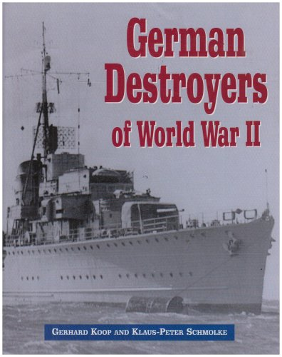 9781853675409: German Destroyers of World War II