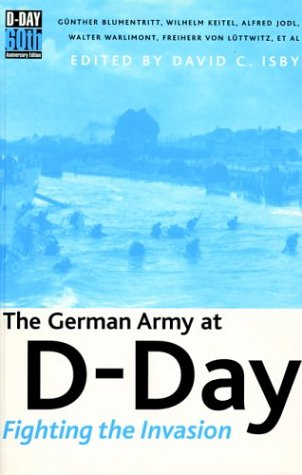 9781853676055: The German Army at D-Day: Fighting the Invasion (Battle Gear)