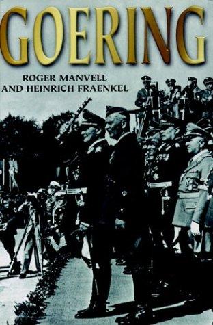 Goering.: Manville, Roger and Heinrich Fraenkel.