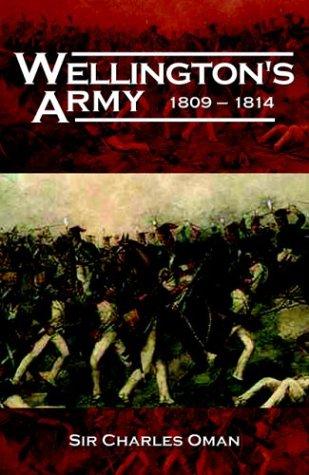 9781853676772: Wellington's Army 1809-1814