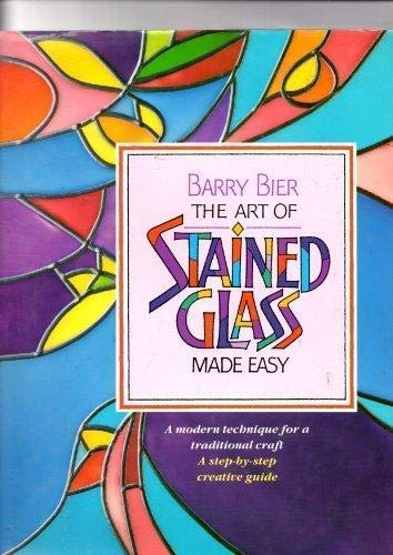 9781853681448: The Art of Stained Glass Made Easy (English and Spanish Edition)