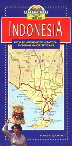 9781853683671: Indonesia Travel Map