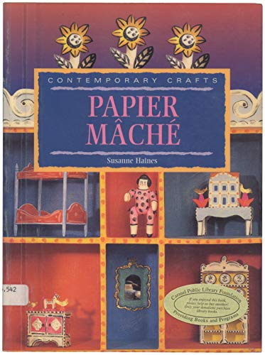 9781853686290: Comtemporary Crafts: Papier Mache