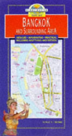 9781853688829: Globetrotter Travel Map Bangkok: And Surrounding Area (Globetrotter Travel Guides)
