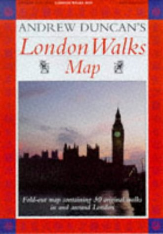 9781853689918: Andrew Duncan's London Walks Map
