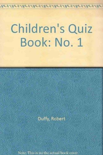 9781853712296: Children's Quiz Book Number 1 (No. 1)