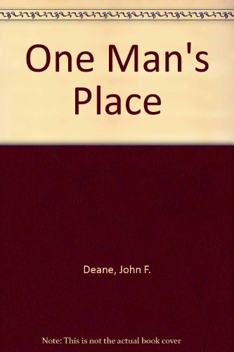 9781853713484: One Man's Place (Poolbeg new writing)