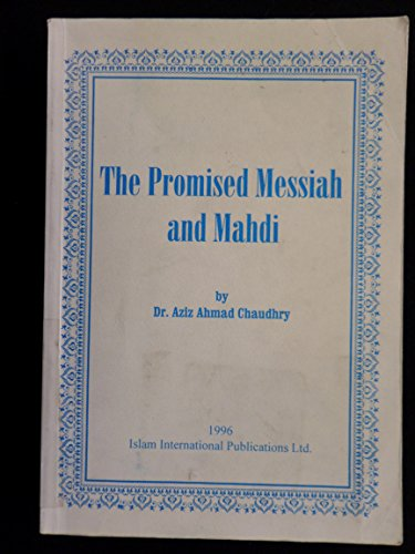 9781853725968: Promised Messiah and Mahdi