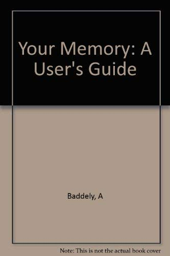 9781853751059: Your Memory: A User's Guide