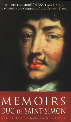 9781853753527: Memoirs: Duc de Saint-Simon Volume One: 1691-1709
