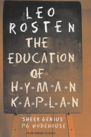 9781853753824: The Education of Hyman Kaplan