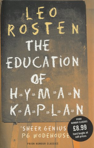 9781853753824: The Education of Hyman Kaplan (Prion Humour Classics)