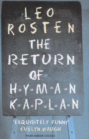 9781853753916: The Return of Hyman Kaplan (Prion Humour Classics)