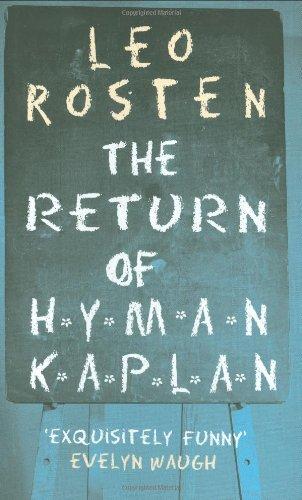 The Return of Hyman Kaplan (Prion Humour: Leo Rosten