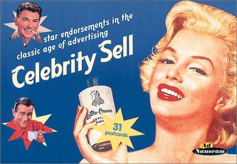 9781853754449: Celebrity Sell (Prion postcard book)