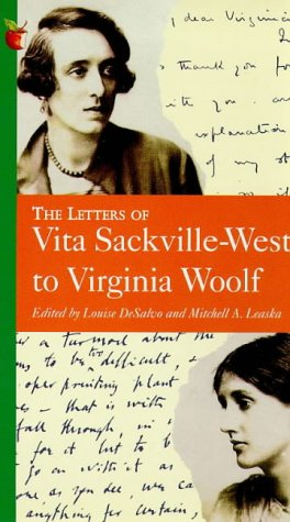 9781853815058: The Letters of Vita Sackville-West to Virginia Woolf (Letters Autobiography)