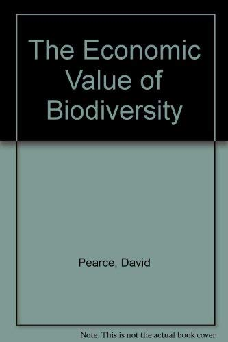 Economic Value Biodiversity (1853832251) by Pearce, David W.; Moran, Dominic