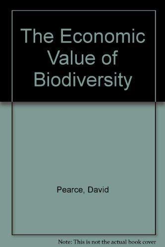 Economic Value Biodiversity (1853832251) by David W. Pearce; Dominic Moran