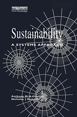 9781853833199: Sustainability: A Systems Approach
