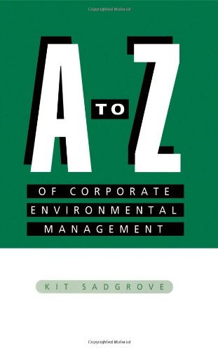9781853833304: A-Z of Corporate Environmental Management