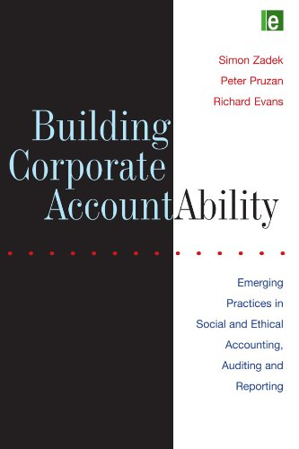 9781853834134: Building Corporate Accountability: Emerging Practice in Social and Ethical Accounting and Auditing