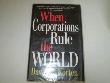 9781853834349: When Corporations Rule the World
