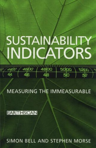 9781853834981: Sustainability Indicators: Measuring the Immeasurable?