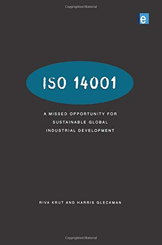 9781853835063: ISO 14001: A Missed Opportunity for Sustainable Global Industrial Development