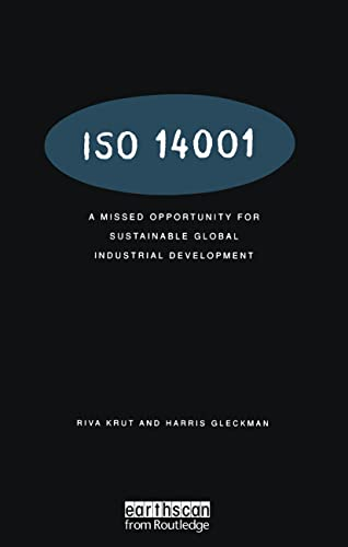 9781853835070: ISO 14001: A Missed Opportunity for Sustainable Global Industrial Development
